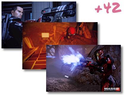 Mass Effect 2 theme pack