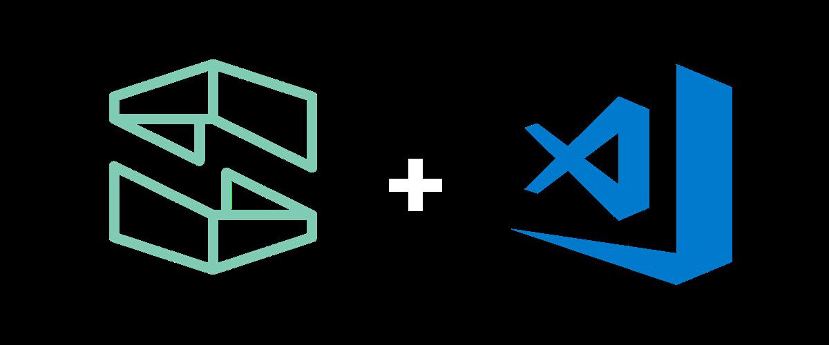 Stackery and VS Code logos