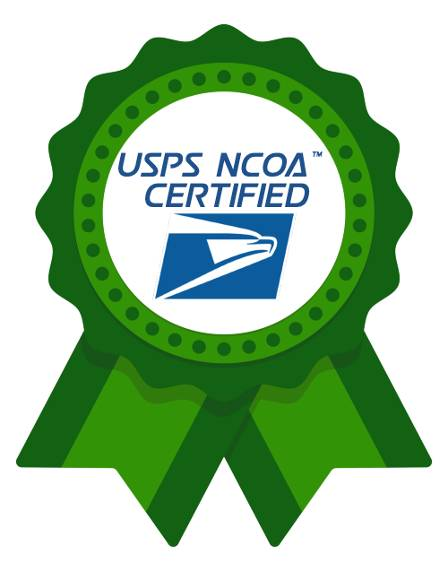 USPS NCOA Certified
