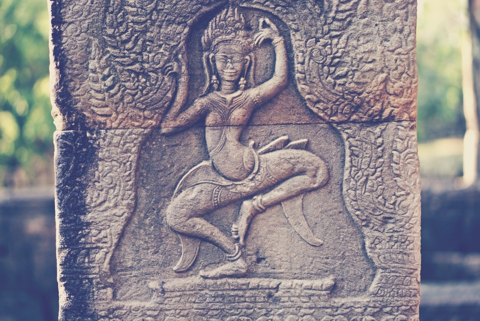 Banteay Kdei, apsara