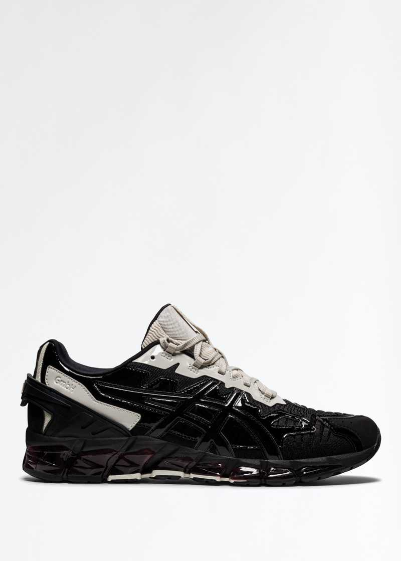 ASICS by GmbH Gel Quantum 360 Ivory Back Right Foot