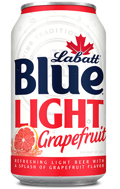 Labatt Blue Light Grapefruit