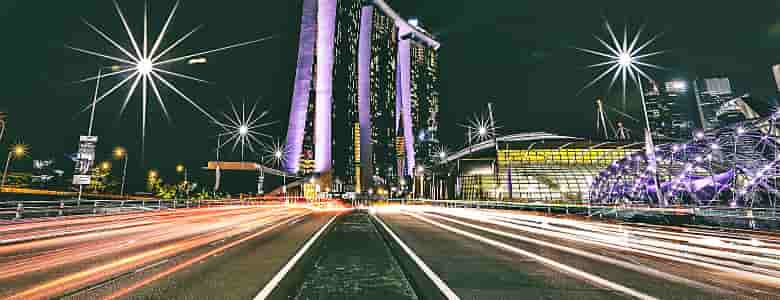 highway to singapore's smart future