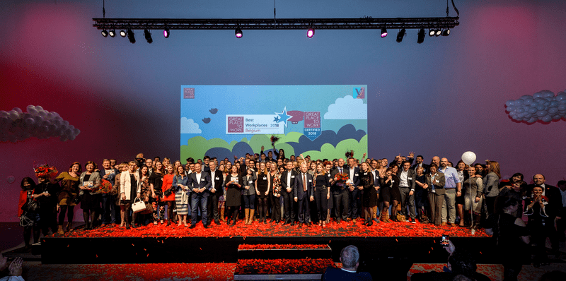 Great Place to Work award show 2018
