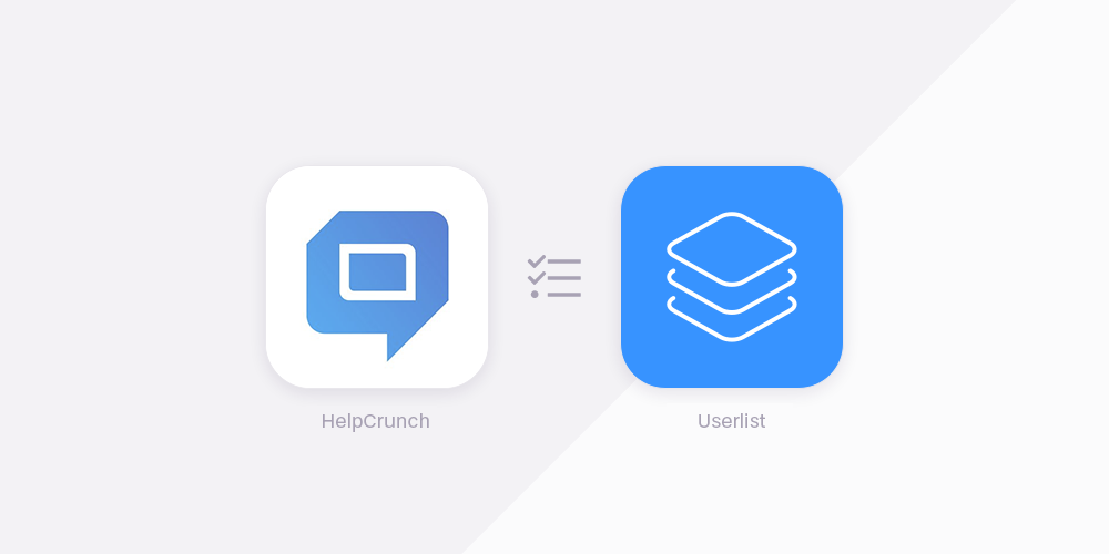 HelpCrunch vs Userlist