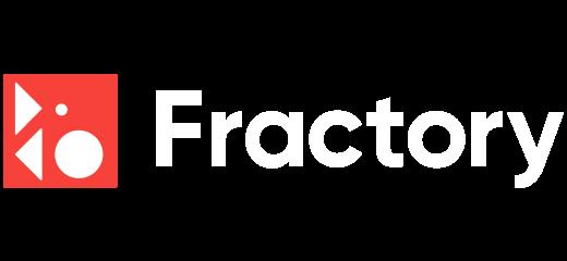 fractory logo old white
