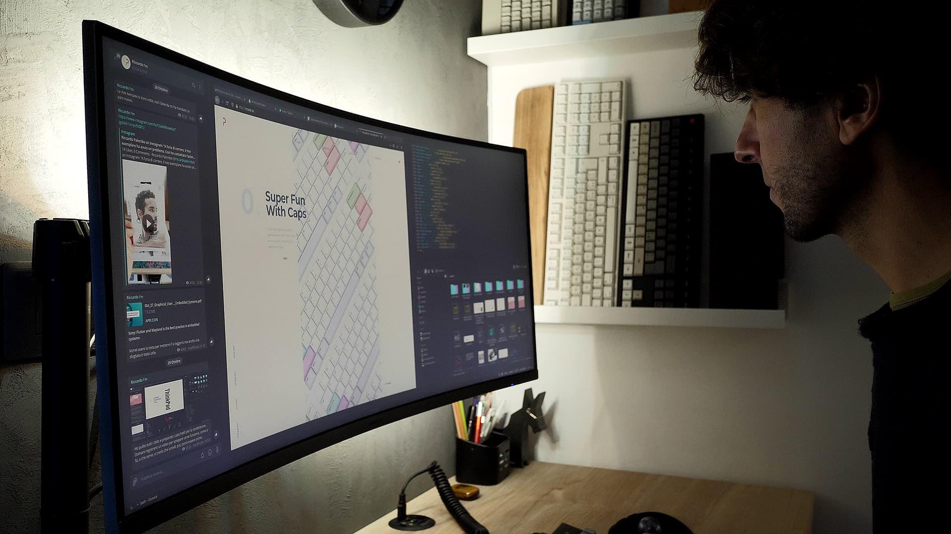 Setup Linux Riccardo Palombo