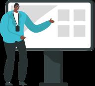 Seu profissional de Sales Operations com **indicadores mais redondos** para auxiliar na melhoria do processo comercial.