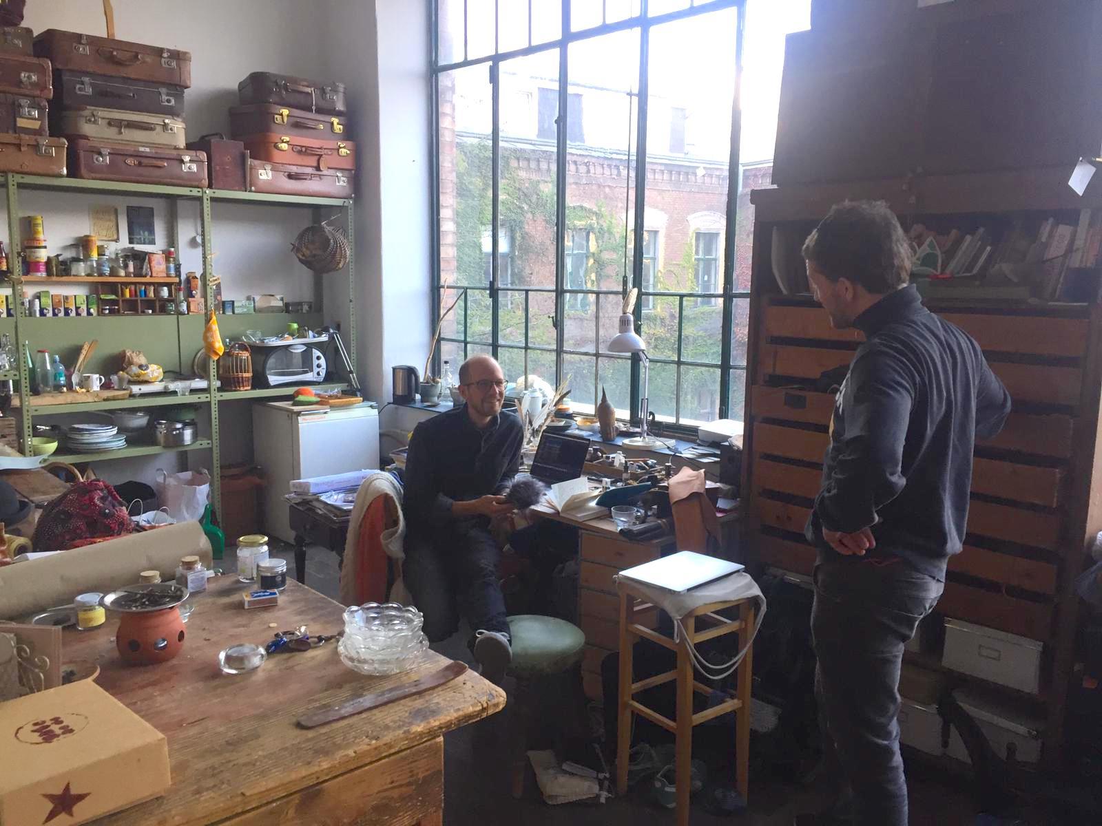 In Bernadette's Atelier