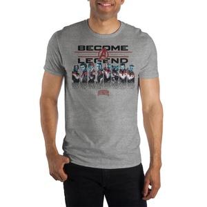 Become A Legend Mens Avengers Shirt