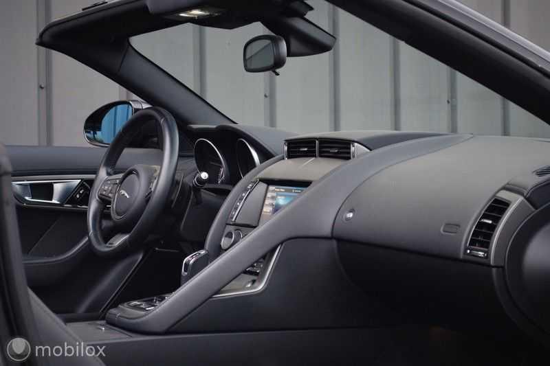 Jaguar F-Type 3.0 V6 Convertible   398 Pk, 500 Nm   Leder   afbeelding 25