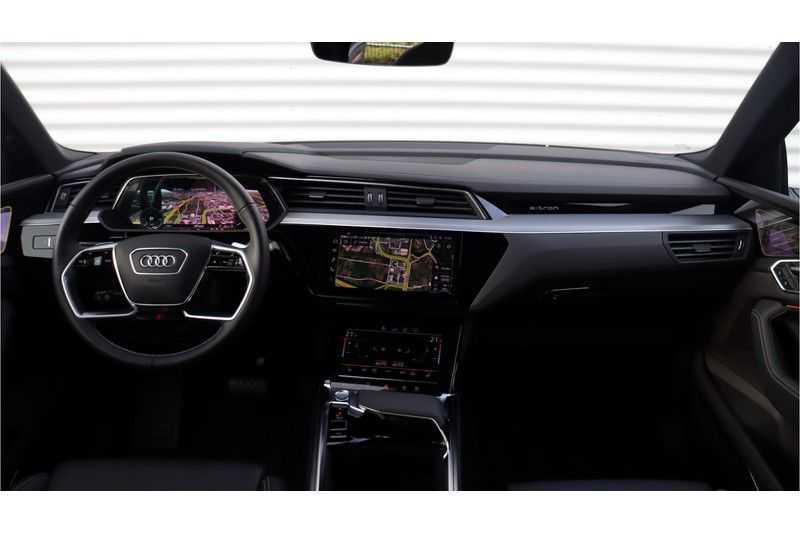 Audi e-tron Sportback 55 quattro S line excl. BTW Panoramadak, S Sportstoelen, Head Up display afbeelding 15