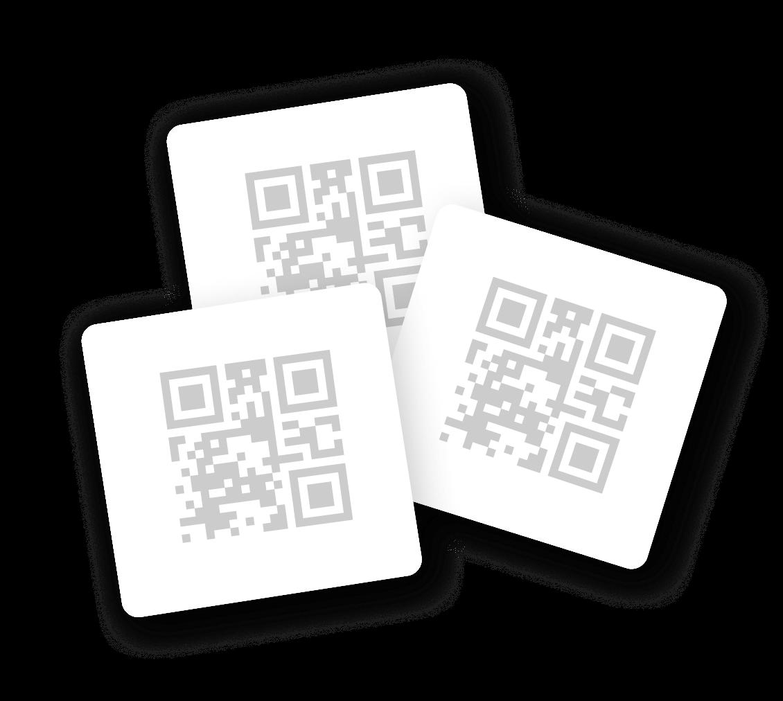 Unique QR code