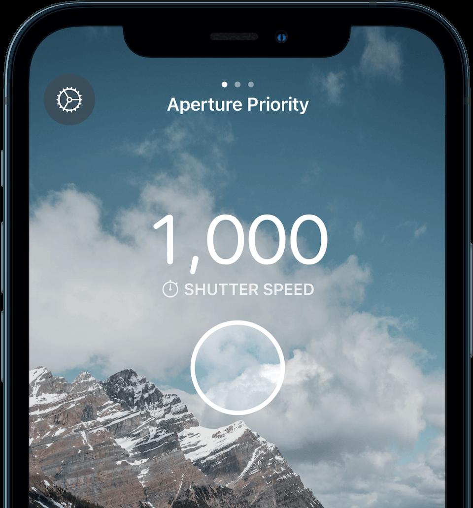 Screenshot of Light Meter Ultra for iPhone app
