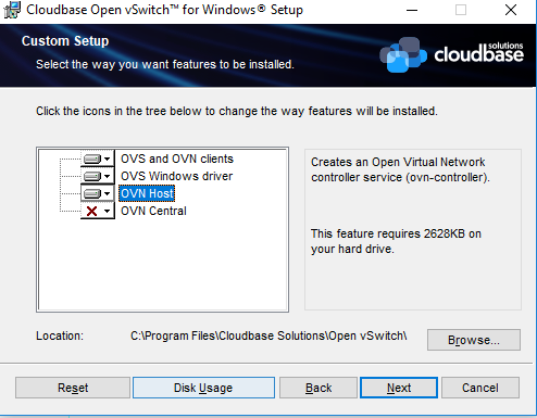 OVN OVS Windows Installer