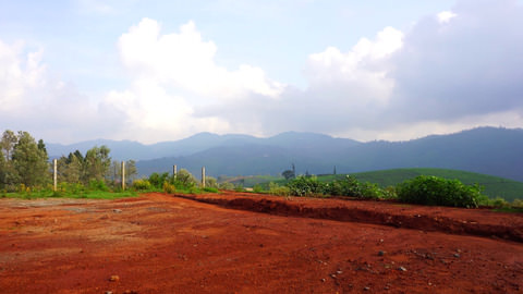 Plot 8 Hill Retreat - Mountain view towards Hulical