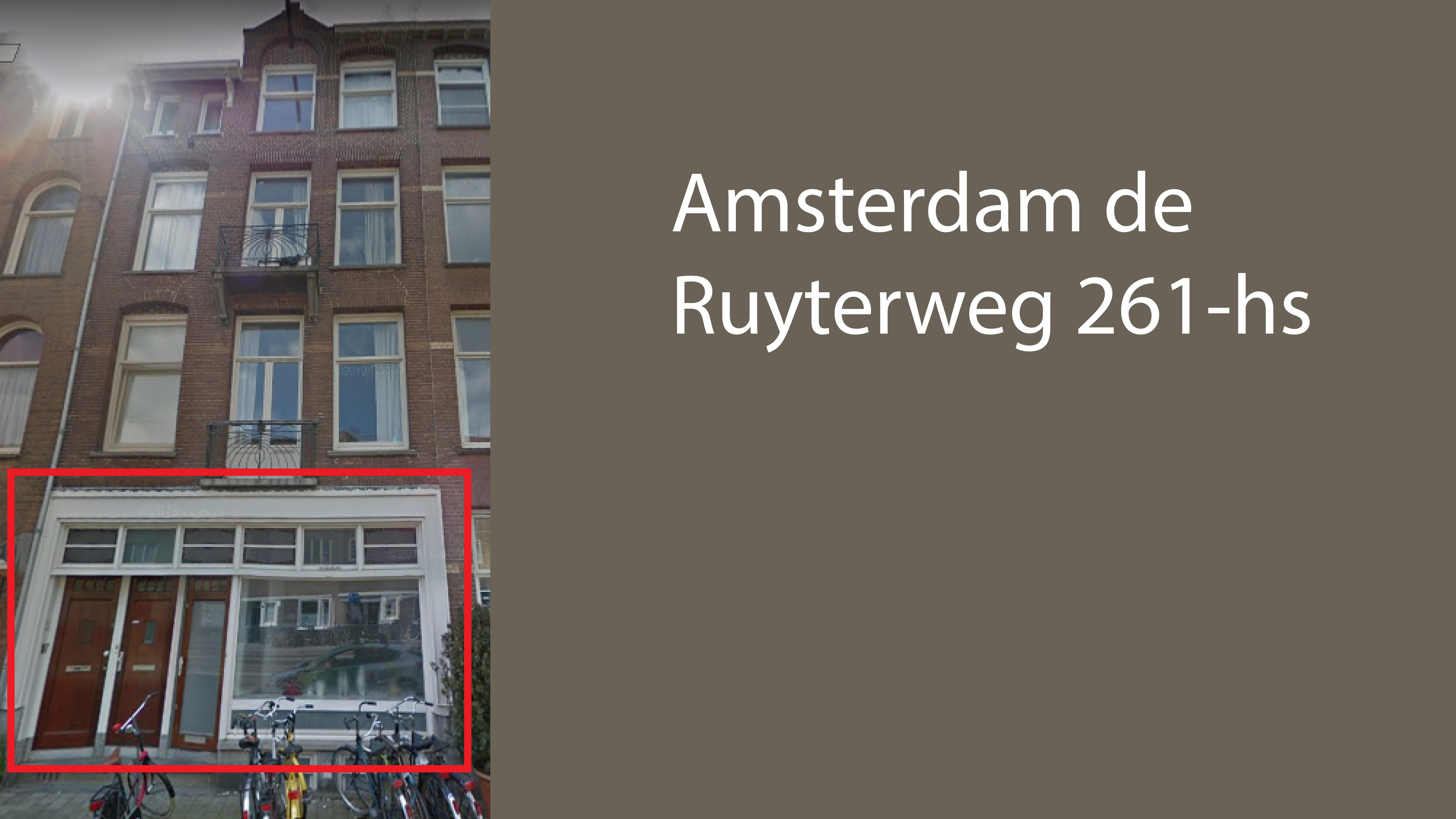 Amsterdam de Ruyterweg 261 hs