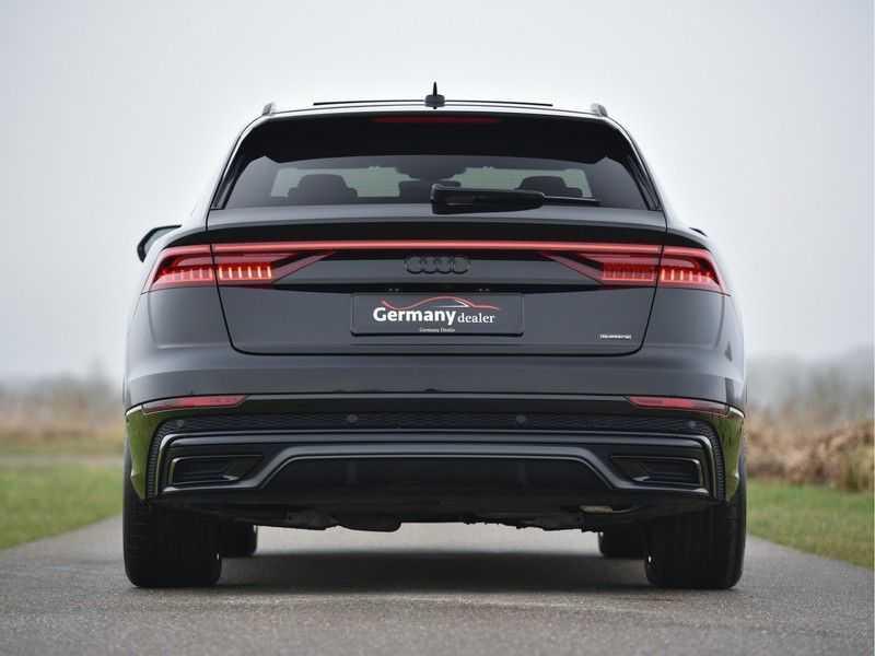 Audi Q8 50TDI 286pk Quattro S-Line Black Optic Lucht RS-zetels B&O High-end Alcant.Hemel TV Head-Up Standk ALLE OPTIES! afbeelding 6