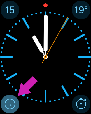 Timelines Watch app - complication