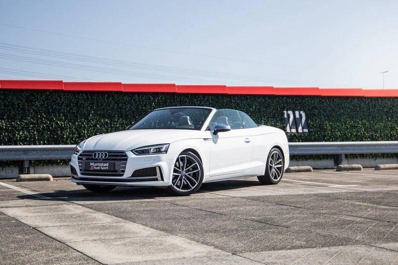 Audi S5 Cabriolet 3.0 TFSI S5 quattro | 354 PK | S-Line | B&O Sound | Assistentie City-Parking | S-Sportstoelen | Virtual Cockpit | Keyless-entry | Massage-Stoelen | afbeelding 2