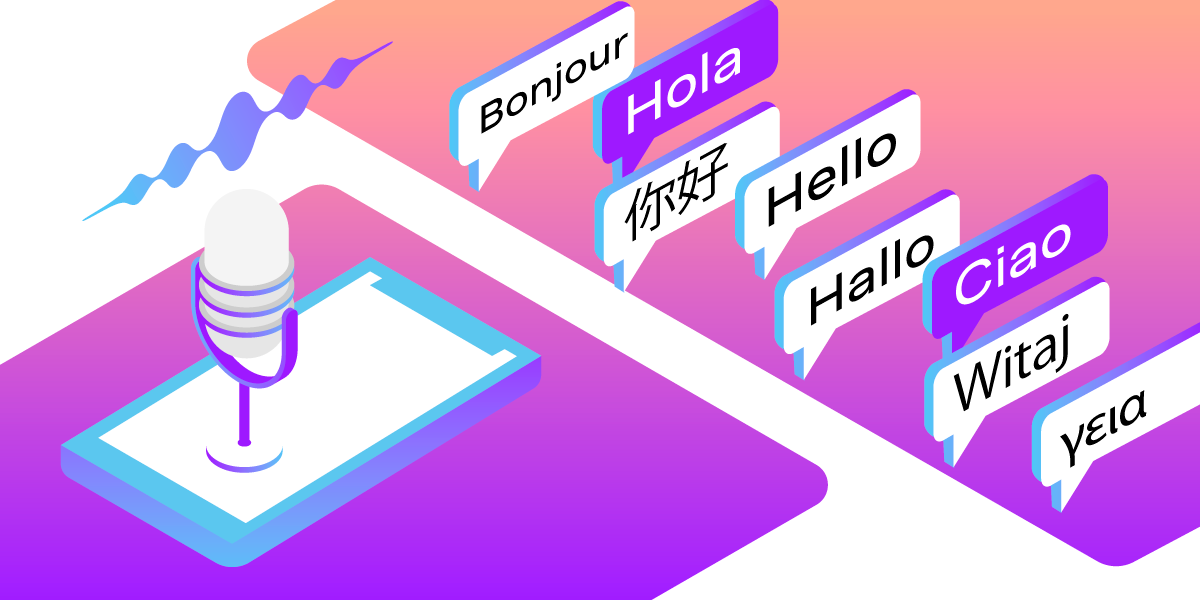 Text-To-Speech: Let Your Application Speak, Now in 50 Languages!