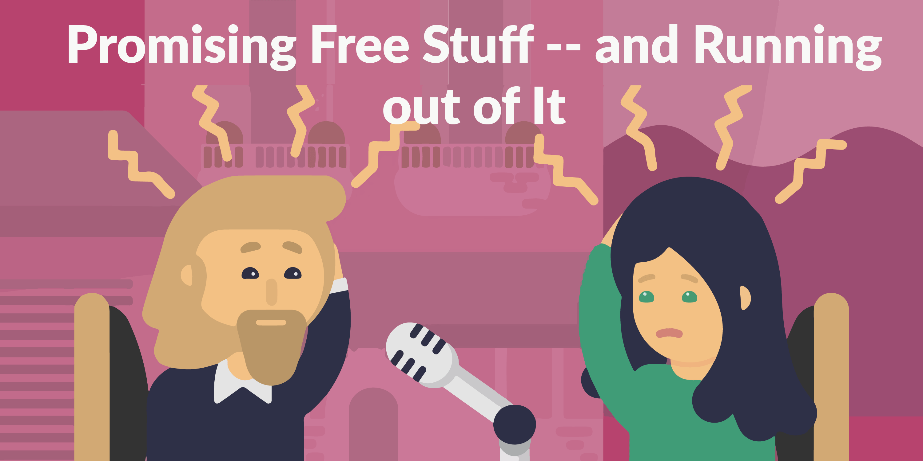 Promising Free Stuff -and Running out of It