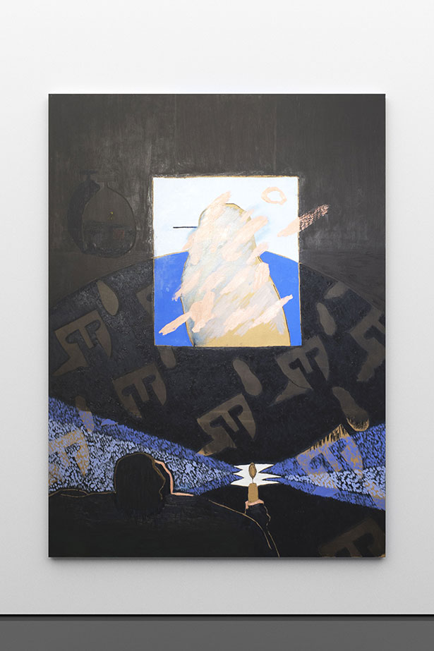zoom: LICHT, 2019        oil on canvas        220 × 160 cm