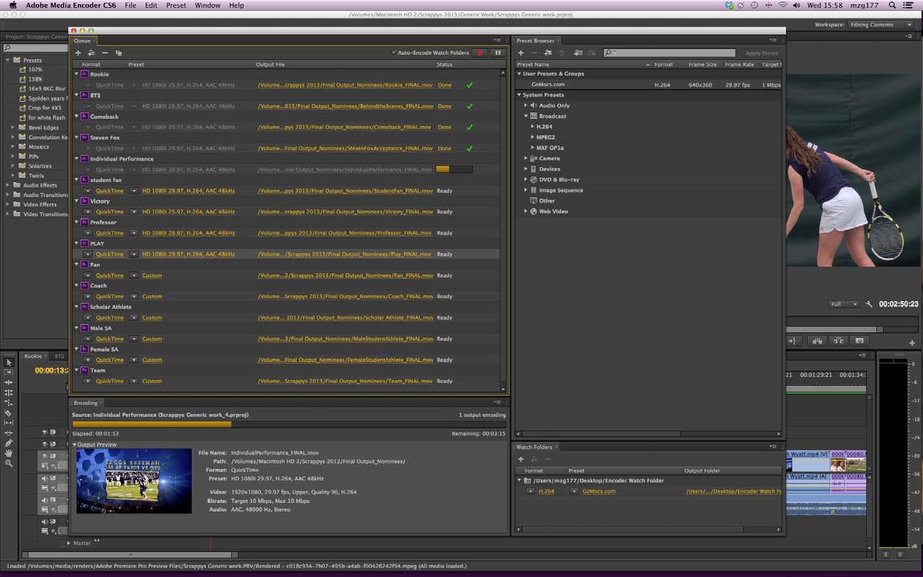 UTC Cantemo Portal System screenshot