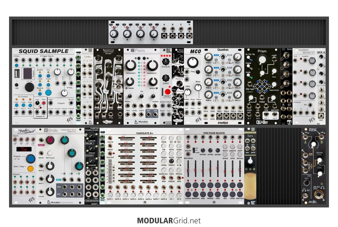 A picture of my modular system