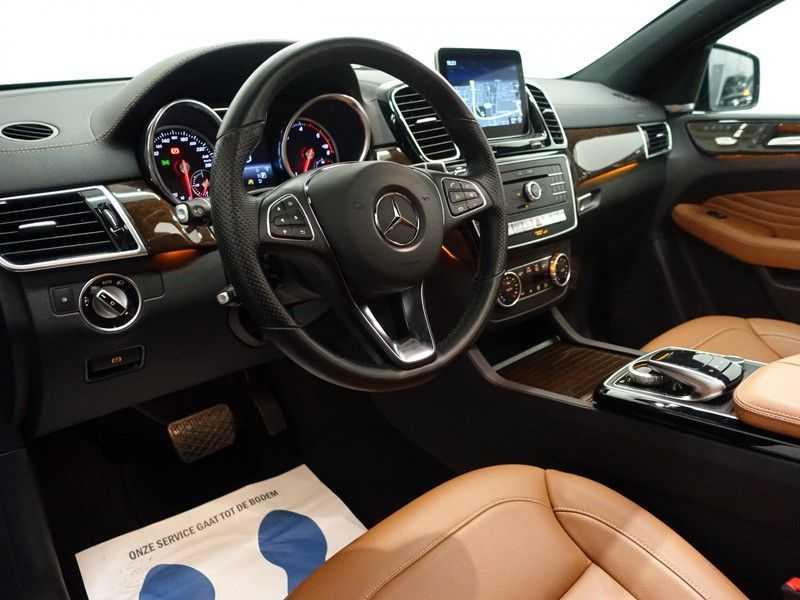 Mercedes-Benz GLE Coupé 350D AMG 4MATIC 259pk Aut- Pano, Harman/Kardon, Leer, 360 Camera afbeelding 24