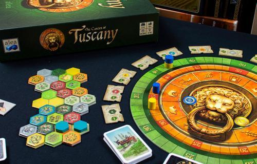 Kockák helyett kártyákkal: The Castles of Tuscany
