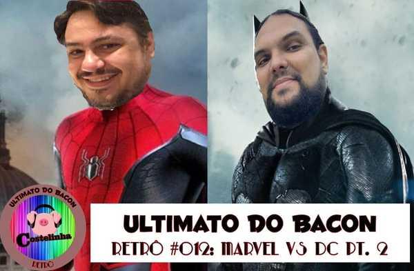 Homem-Aranha Batman Alexandre Diego Capa Sobrecast UB Retrô 2