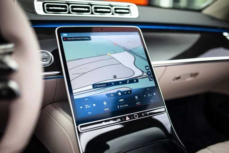 "Mercedes-Benz S-Klasse 500 4Matic Lang AMG *Pano / 3D Burmester / HUD / Distronic / 21"" / 3D Display* afbeelding 12"