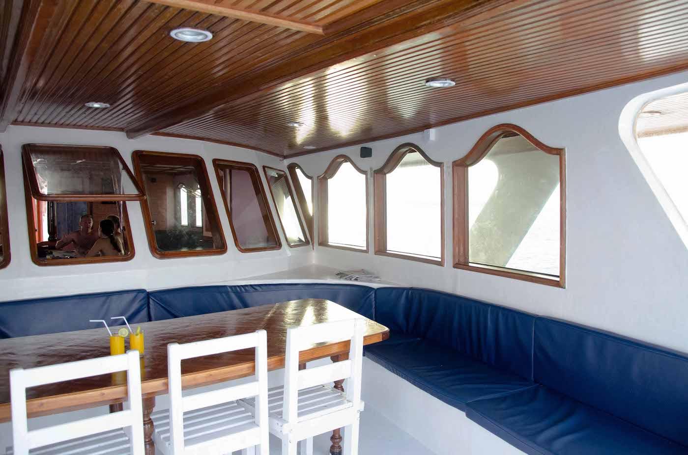 Dhinasha Surf Charter Boat Your Maldives Dining