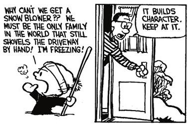Calvin & Hobbes Joke