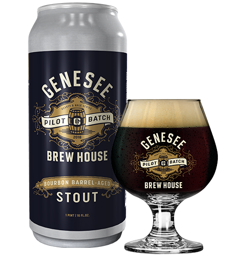 Genesee Bourbon Barrel-Aged Stout can