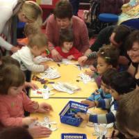 Children's craft activity