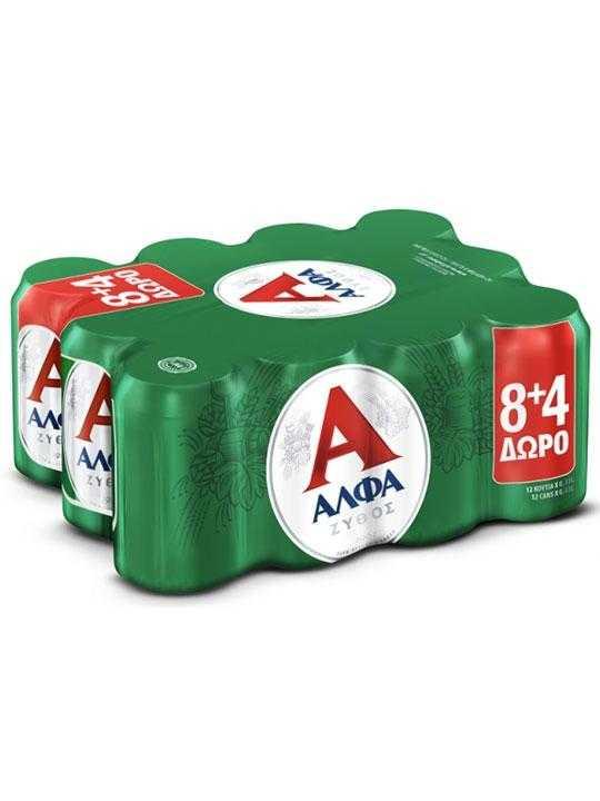 alpha-beer-24-cans-330ml-athinaiki-zytopoiia