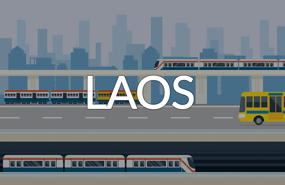 Transportation Laos banner