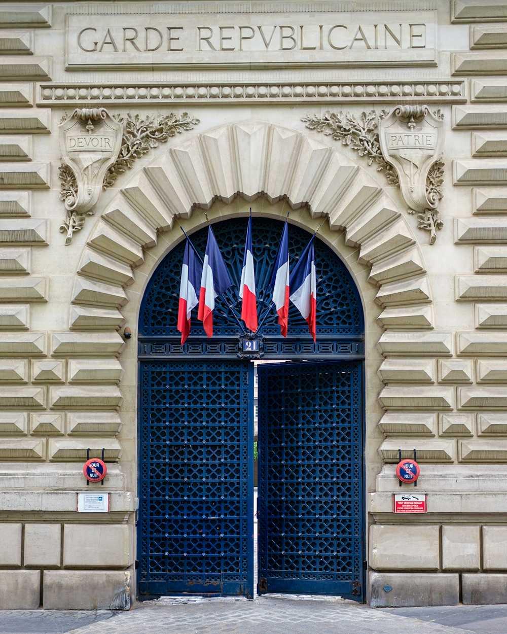 Caserne Monge — a Garde républicaine barracks