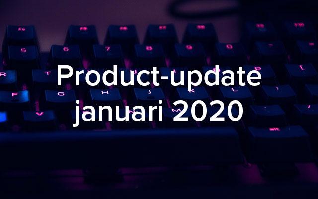 Product-update januari: uitbreiding events-functionaliteit en veel verbeteringen certificaten