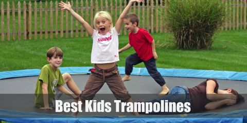 Kids trampolines will guarantee to entertain your child and provide them with a good exercise as kids trampolines come in different shapes and sizes.