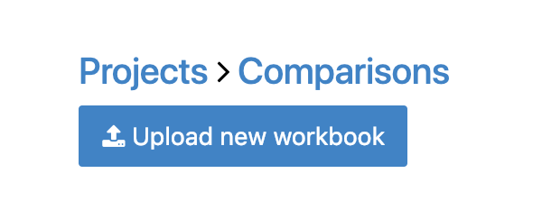 Upload new workbook