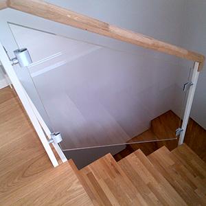 Pannello per scale antirottura