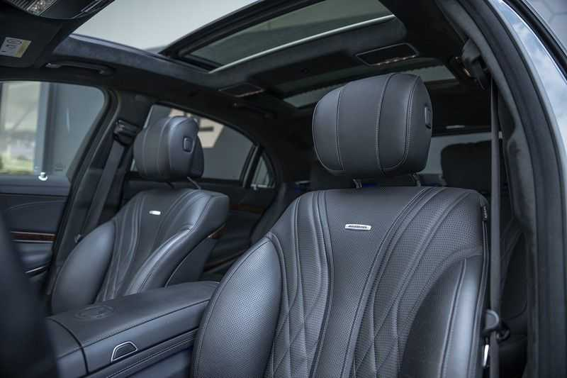Mercedes-Benz S63 AMG Lang 4-Matic BTW-auto + Magnetite Black + Panoramadak S 63 DISTRONIC Plus + MASSAGE afbeelding 9