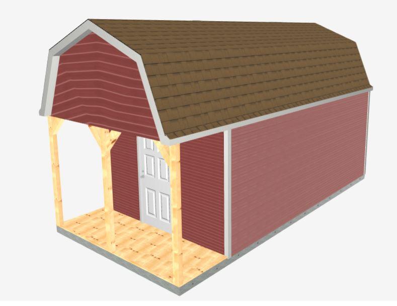 Barn Pro Weekender exterior