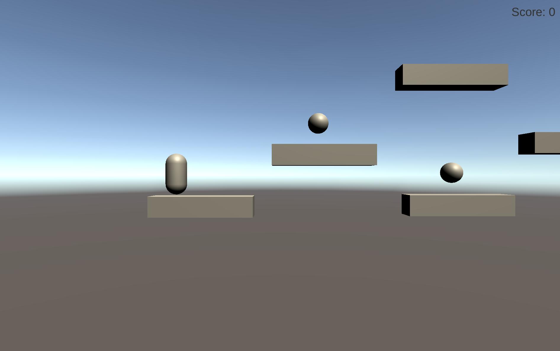 platformer prototype screenshot