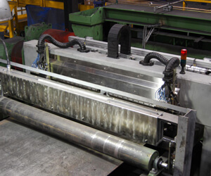 Steel Plate EMAT inspection with the temate® Pi-NB scanner side-small