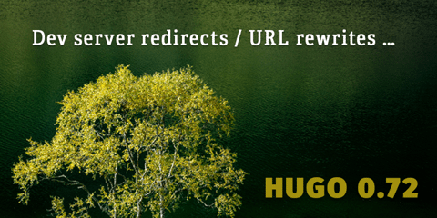 Featured Image for URL rewrites in dev server