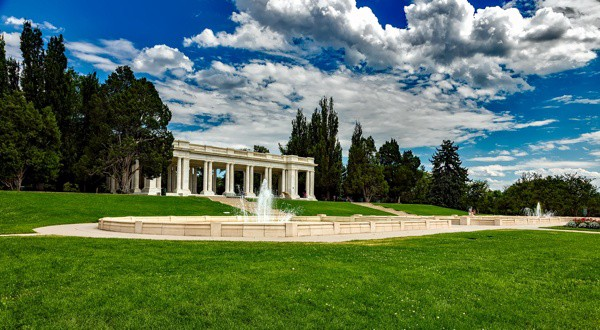 Cheesman Park in Denver, Colorado (I went ghost hunting here once)